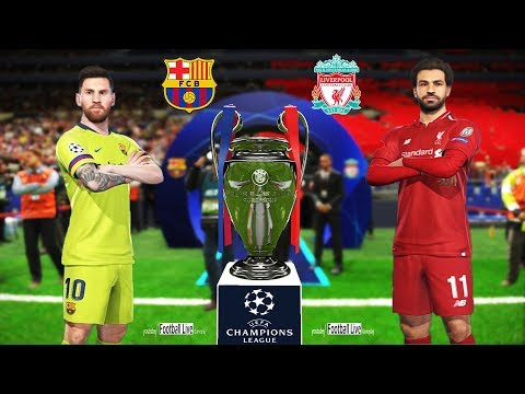 PES 2019 | LIVERPOOL Vs FC BARCELONA | Final UEFA Champions League - UCL | Penalty Shootout
