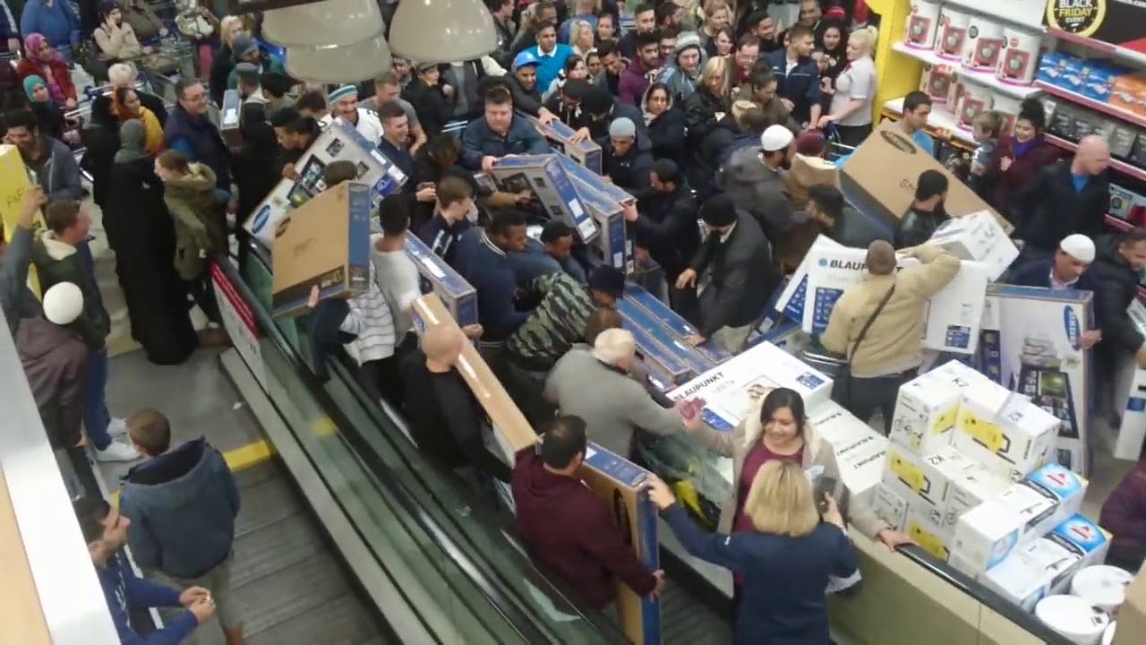5 Black Friday Tesco Chaos Youtube