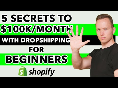 How I Went From 1K/Month To 100K/Month With Dropshipping [5 Secrets]