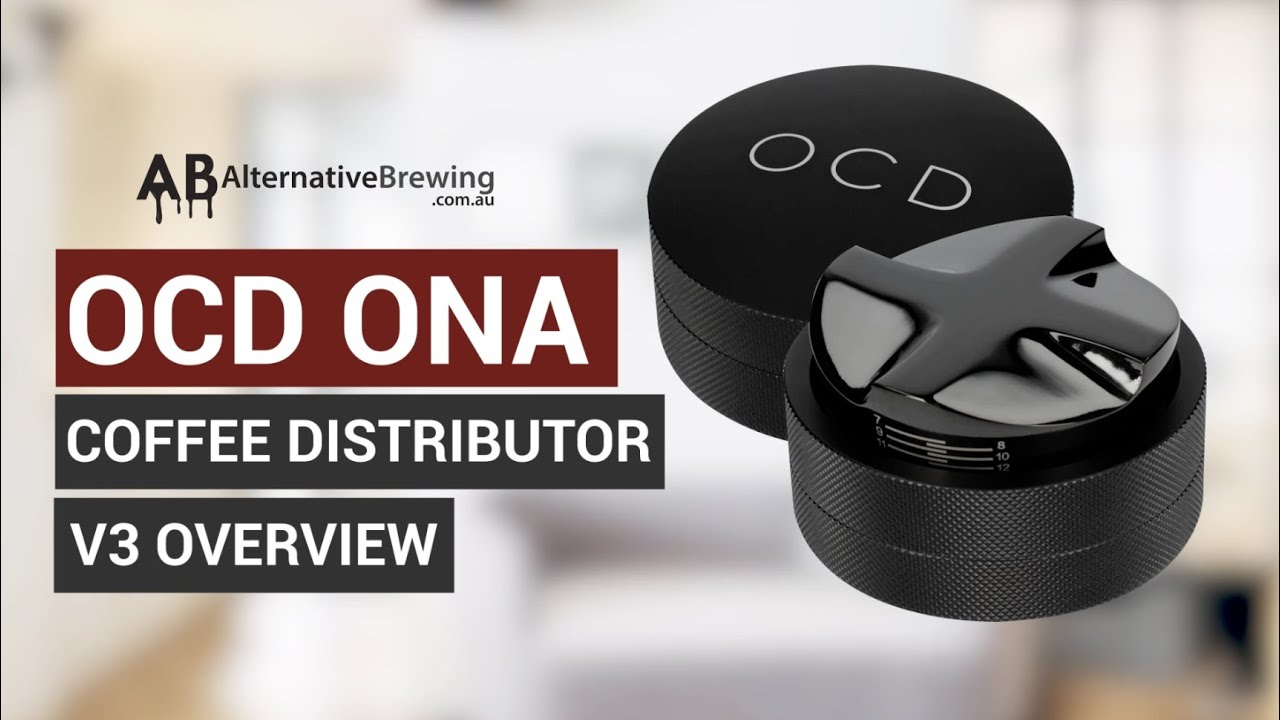 OCD Ona Coffee Distributor V3 Overview
