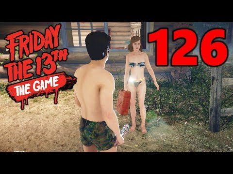 [126] Camo Makes Kenny Invisible?!? (Let's Play Friday The 13th The Game)