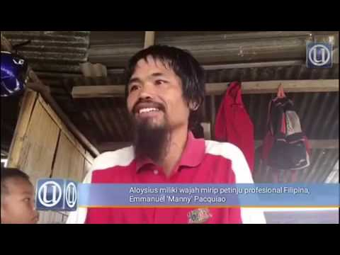 Manny Pacquiao twin in Sabah, Malaysian-Borneo?