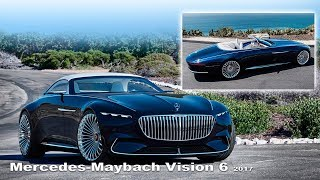 Vision Mercedes-Maybach 6 Cabriolet - Interior and Exterior | New Concept thumbnail