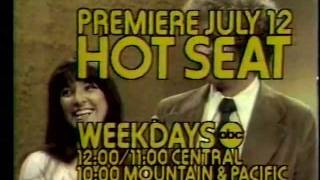ABC game show promo The Hot Seat 1976