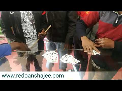 Card magic showing infront of south african people!! Redoan Shajee!!