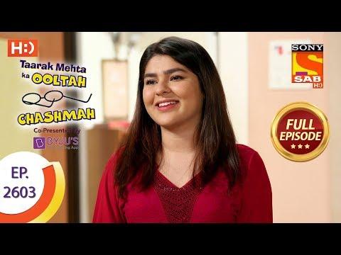 Taarak Mehta Ka Ooltah Chashmah – Ep 2603 – Full Episode – 16th November, 2018