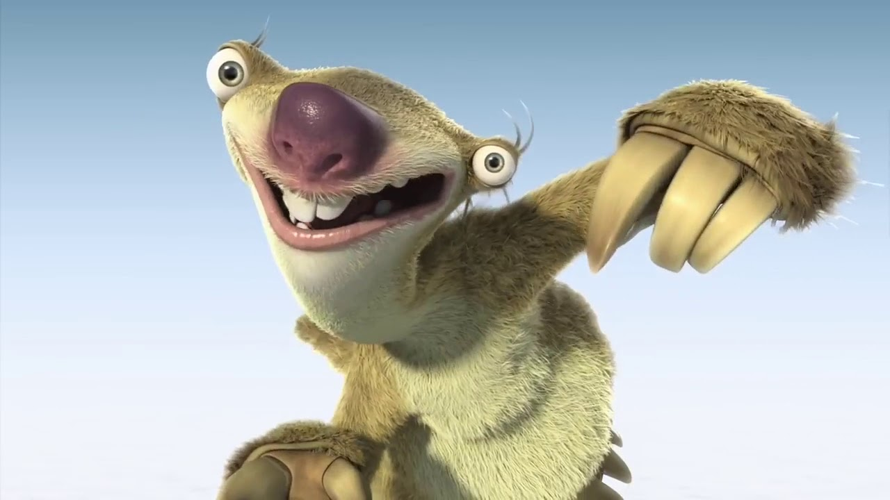 Sid the sloth does the torture dance - YouTube