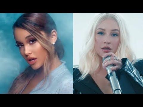 Ariana Grande VS Christina Aguilera IN SAME SONGS!!!!