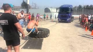 Тяга грузовика Уссурийск 9 мая Силовой экстрим!(, 2014-03-27T22:22:23.000Z)