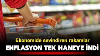 Enflasyon Yeniden Tek Haneye İndi
