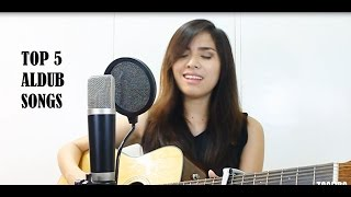 Ngiti/God Gave Me You (TOP 5 ALDUB SONGS) | Cover By Zandra