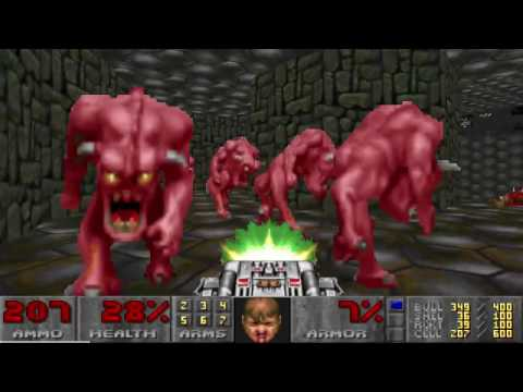 Doom 2: Hell on Earth UV Max Speed Run World Record in 1:29:48