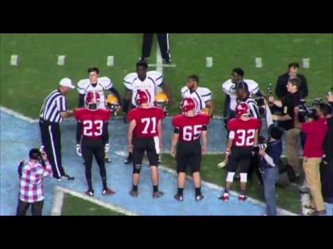 2015 NCHSAA 3A State Football Championship Game - December 11, 2015