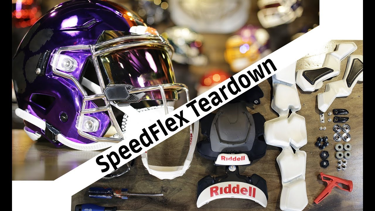 Teardown Riddell Speedflex Deconstruction How To Why Youtube
