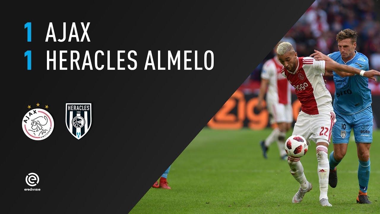 Ajax - Heracles Almelo | 11-08-2018 | Samenvatting