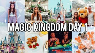 FLORIDA DAY 1: MAGIC KINGDOM 2019 - DISNEY WORLD VLOGS! Ad-Gifted Trip