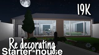Re-Decorating the Pre Built Homes in Bloxburg | Roblox