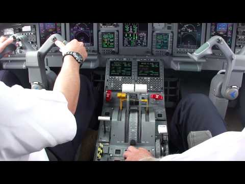 Embraer Legacy 650 Take-off from the cockpit with the MalibuWineGuy.com