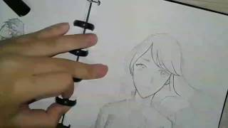Shibuki Ran From Aikatsu Speedpaint/draw