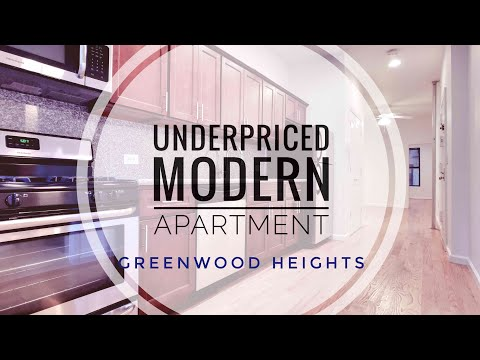 Underpriced Modern Apartment in Greenwood Heights! Video Tour NYC near Prospect Park