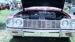 1964 Chevy SS Convertible 409 Red Daytona052016