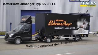 BE Sattelzug (mit BE Führerschein fahrbar) - Eggers Fahrzeugbau GmbH 2017 (C)