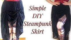 Simple DIY Steampunk Skirt