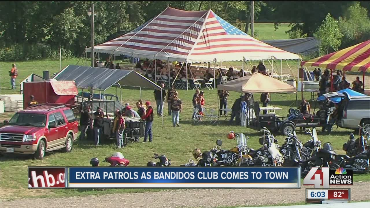 Bandidos MC comes to Grain Valley