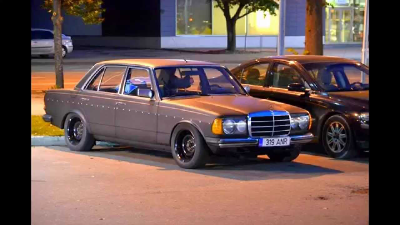 Low rat 83 mercedes benz w123 youtube for Low cost mercedes benz