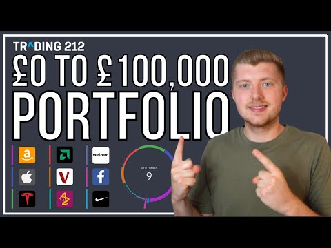 How I Plan To Build A £100,000 Investment Portfolio | Investing For Beginners On Trading 212!