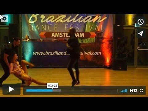 BDF2017 Lucia Kubasova with Renato Veronezi and William Dos Santos ~ video by Zouk Soul