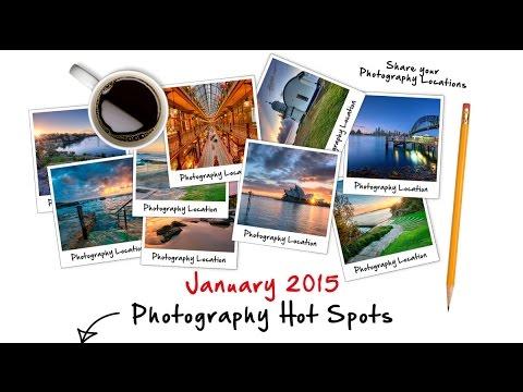 January 2015 Photography Locations