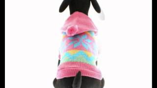 Alpine Hooded Sweater For Small Dogs