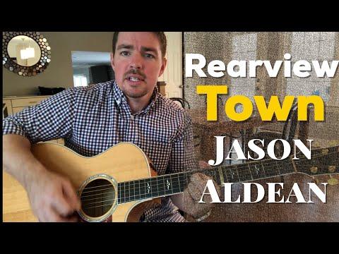 Rearview Town | Jason Aldean | Beginner Guitar Lesson