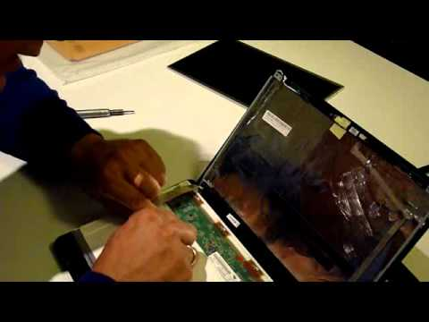 Laptop Screen Replacement / How To Replace Laptop Screen ASUS Eee PC 1215B