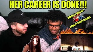 HER CAREER IS DONE!!! Deji - Danielle Broccoli (Official Music Video) Reaction