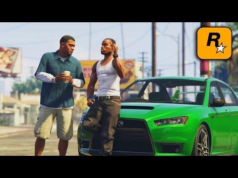 GTA IV - CJ Meets Franklin Part 1
