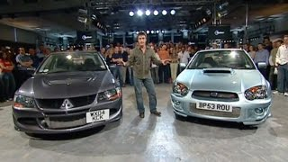 Download Mitsubishi Lancer Vs. Subaru Impreza Power Lap | The Stig | Top Gear Mp3 and Videos