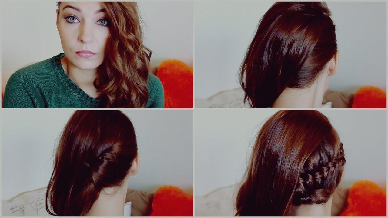 Hair peinados f ciles de lado para fiesta nochevieja - Peinados fiesta faciles ...