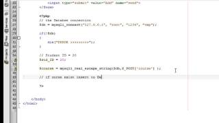 insert multiple select value using PHP and MYSQL