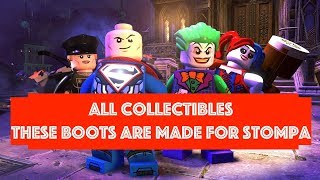 Lego DC Super Villains These Boots are made for Stompa Free Play 100% all Minikits and Collectibles