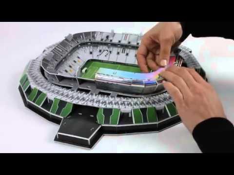 3D Puzzle Nanostad Juve Stadium - Juventus Turín - YouTube 7de33d623db