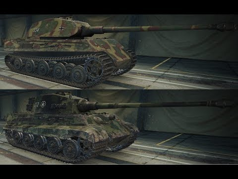 World Of Tanks: VK 45.03 & King Tiger (C) Combined Review