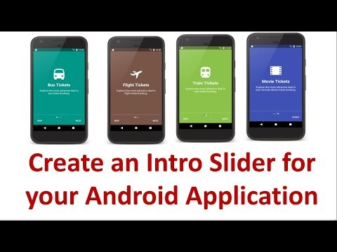 android app intro slider 3 6 prepare the slides youtube