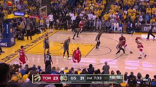 Toronto Raptors vs Golden State Warriors 2019 NBA Finals Game 4 Highlights