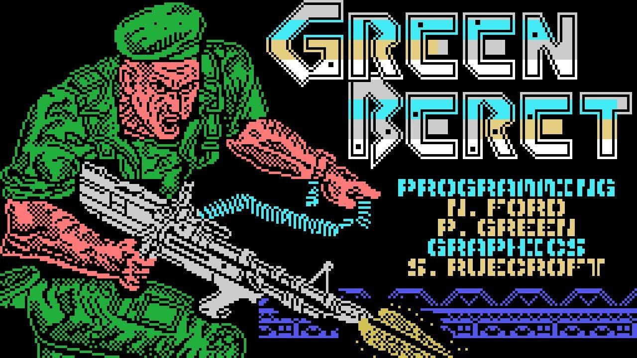 Green Beret Longplay (MSX) [QHD]