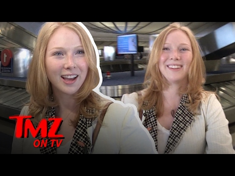 Molly Quinn Knows How To Spot A Fake Red Head  TMZ TV