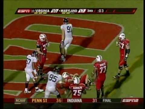 Virginia at Maryland, 2007 (football)