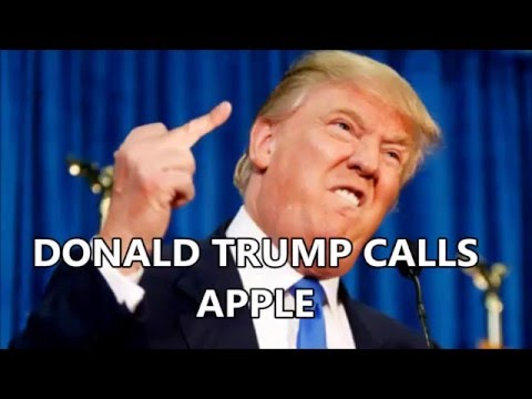 Donald Trump Prank Calls Apple