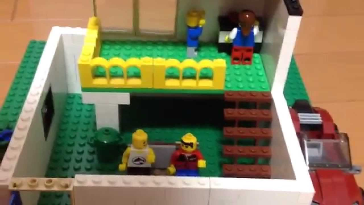 レゴ 簡単な家の紹介